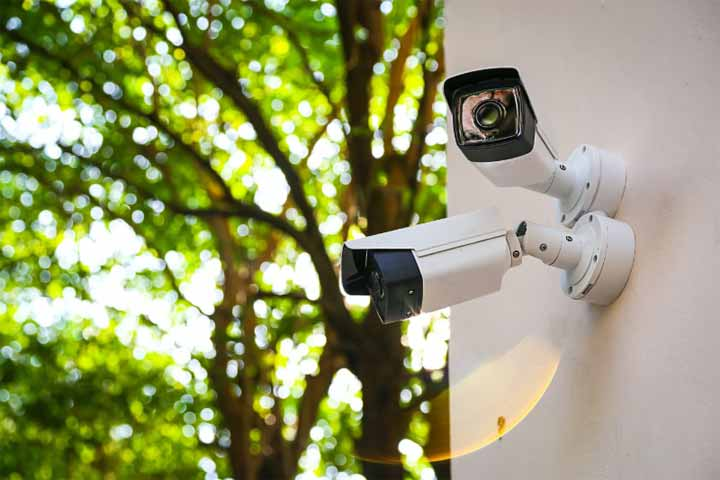 How are Outdoor Security Cameras Powered